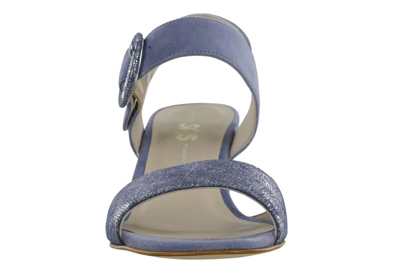 Carine Sky-Silver Blue Right Front View