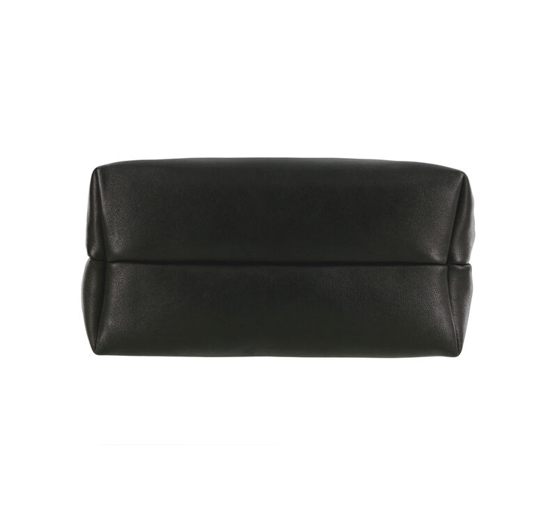 Heidi II Black Brocade Bag Bottom View