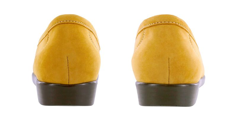 Simplify Mustard Nubuck Pair Rear View