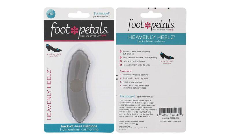 Foot Petals Heavenly Heelz Gel Technogel