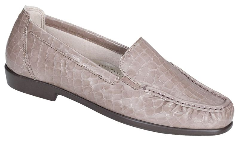 Joy Taupe Croc Right .75 View