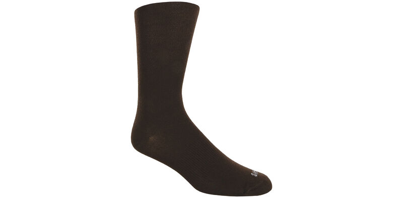 Mayo Viscose Women's Medium Brown Socks Model View