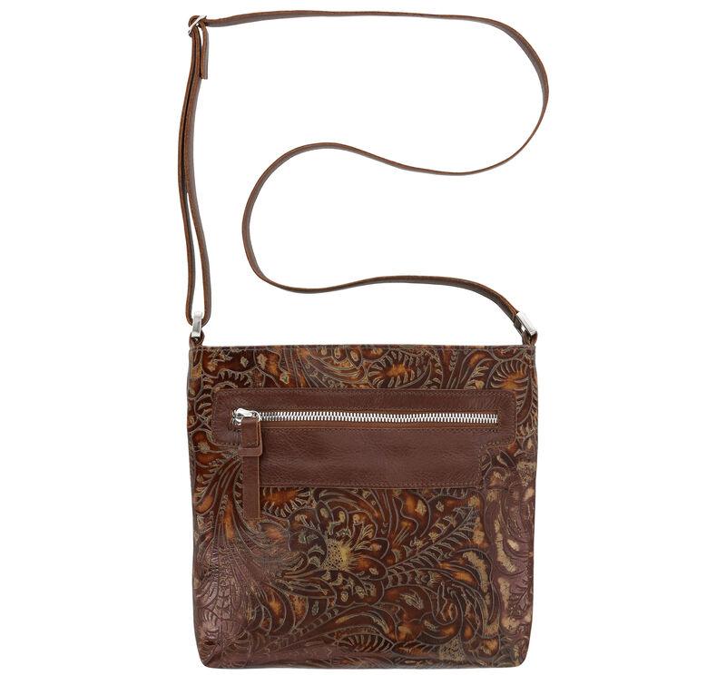 Giselle II Auburn Floral Bag View