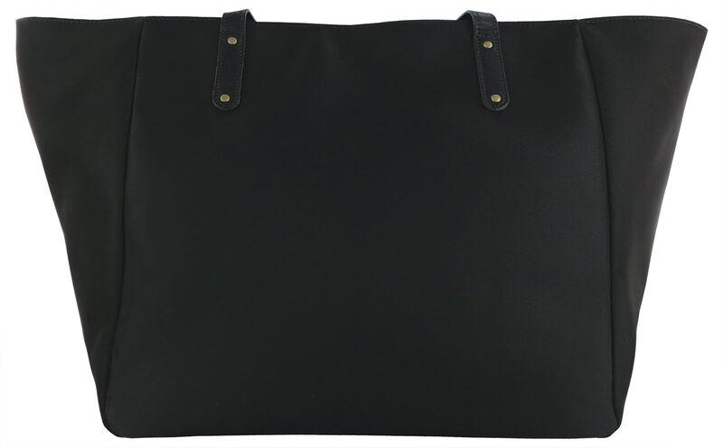 Faye DLX Black/Bison Rear View