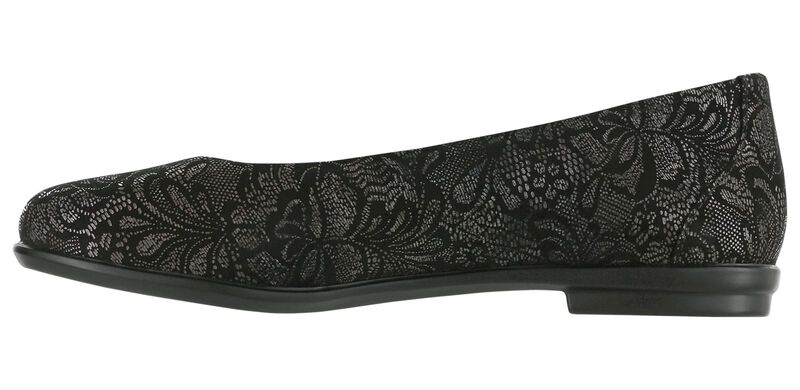 Scenic Black Lace Right Side View