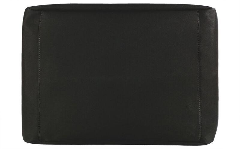 Faye DLX Black/Bison Bottom View
