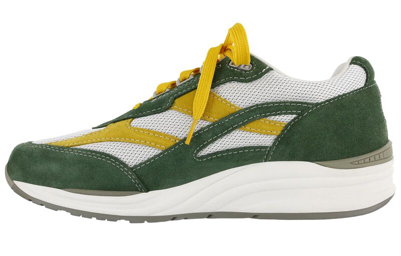 Journey Mesh Green-Yellow Left Side View