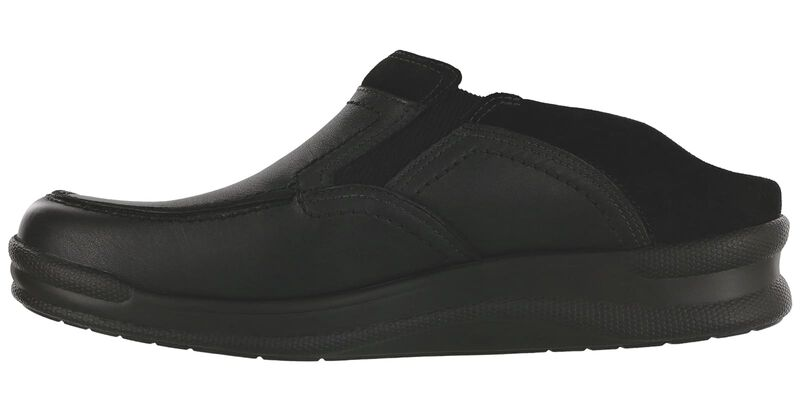 Slip On Black Loafer Left View