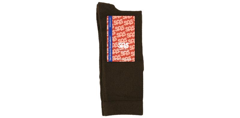 Mayo Viscose Women's Medium Brown Socks Front View