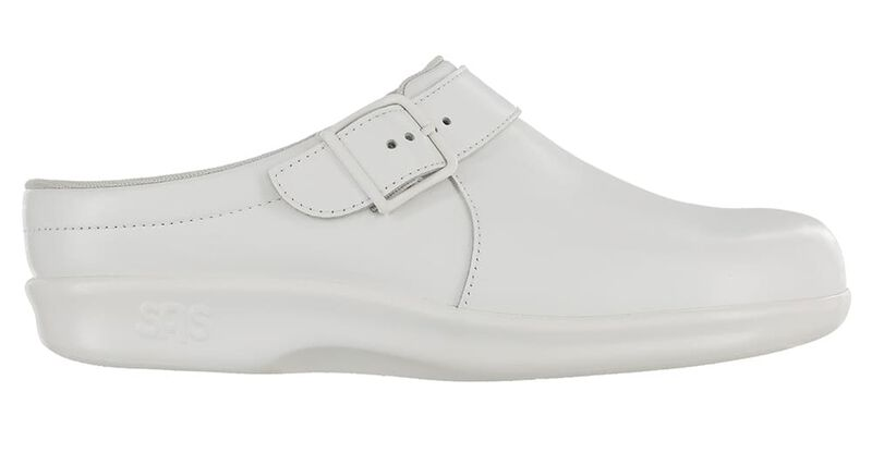 Clog White Right Side View