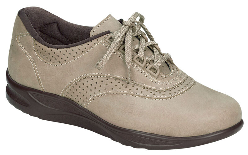 Walk Easy Sage Nubuck Right .75 View