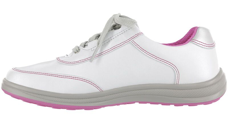 Sporty Bianco-Pink Right Side View