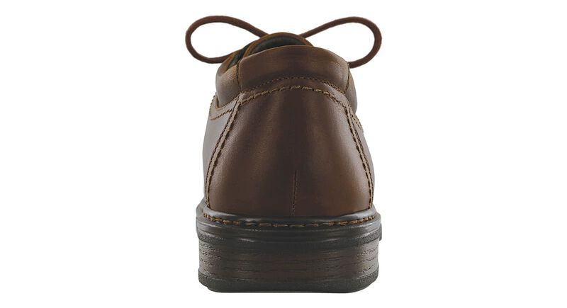 Aden Lace Up Oxford, Brown, large