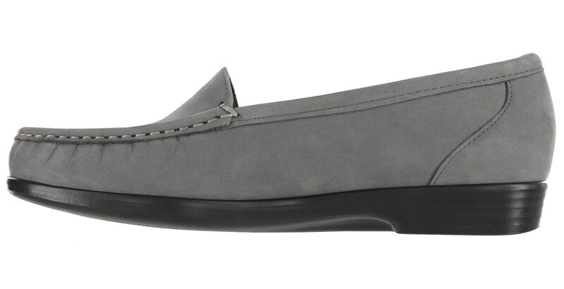 Simplify Gray Nubuck Right Side View
