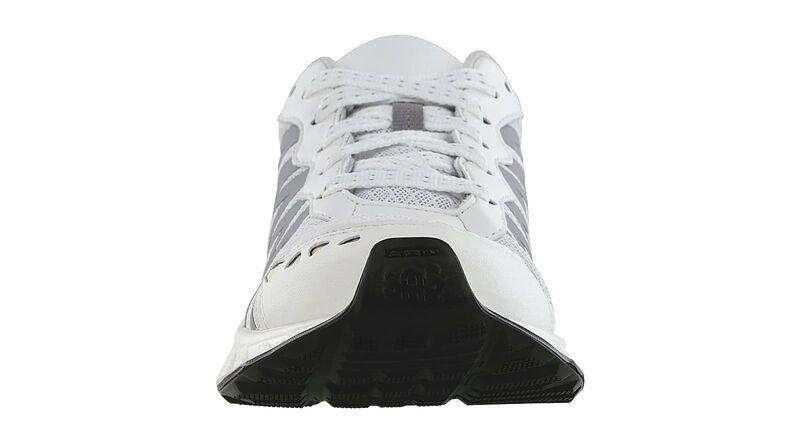 Tempo White-Silver Right Front View