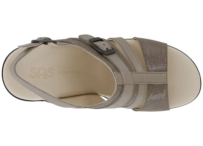 Layla Fog-Taupe Left Top View