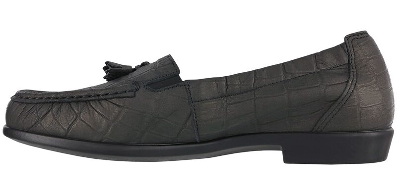 Hope Black Croc Right Side View