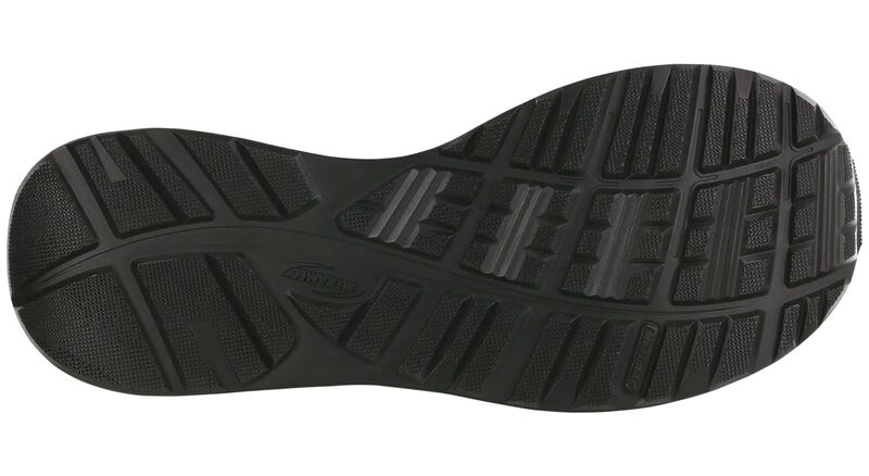 Tempo Black Left Sole View