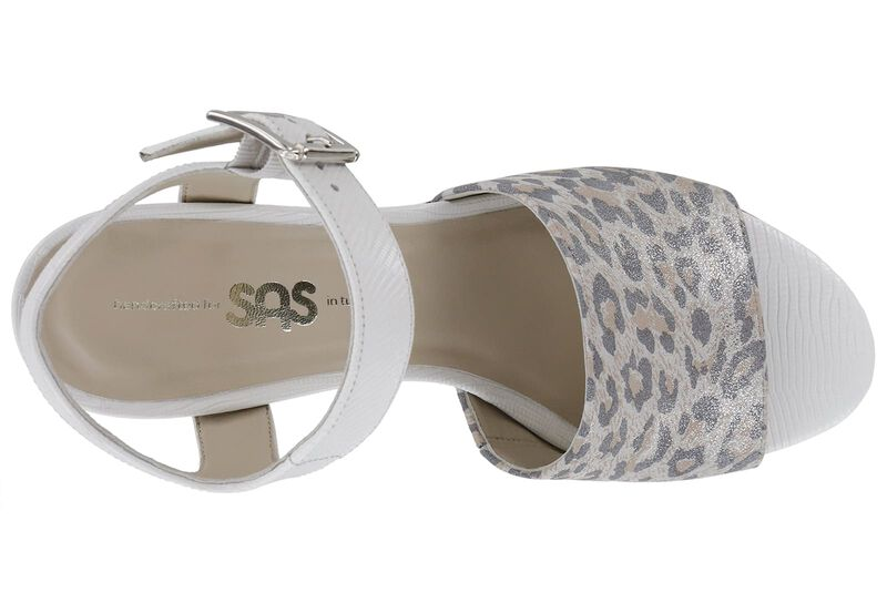 Bianca White-Silver Ocelot Left Top View