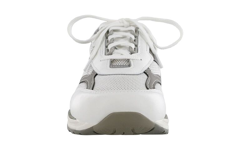 Journey Mesh White-Gray Right Front View