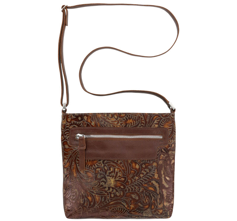 Giselle II Auburn Floral Bag View