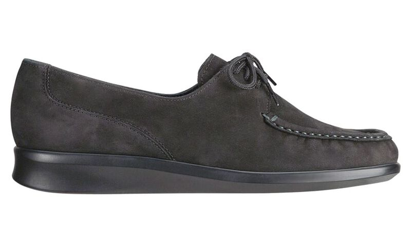 Petra Charcoal Nubuck Right Side View