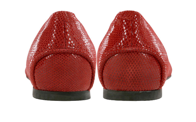 Lacey Slip On Loafer, Rouge, large