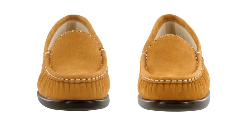 Simplify Rust Nubuck Pair Front View
