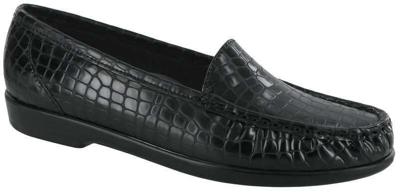 Simplify, Matte Black Croc, large