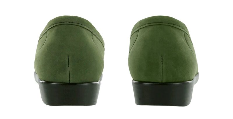 Simplify Green Nubuck Pair Rear View