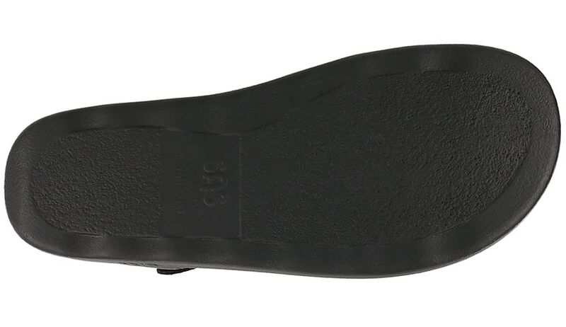 Marina Black Left Sole View
