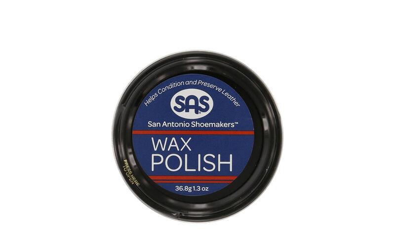 Wax Polish Black Front View