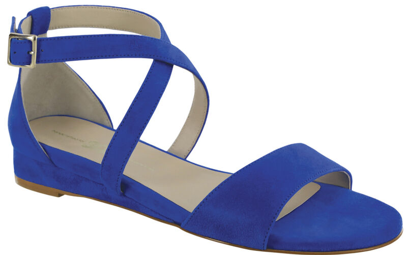 Simone Suede Blue Right .75 View