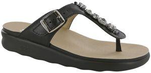 Dazzle T-Strap Slide Sandal