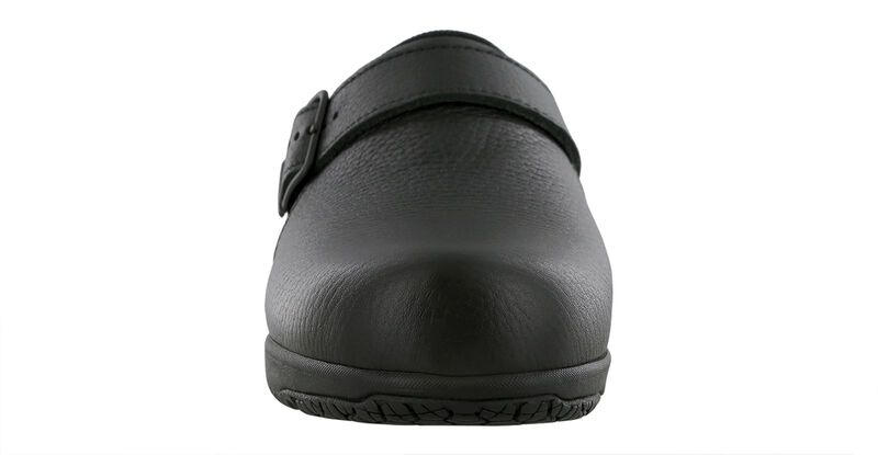 Clog SR Black Right Front View