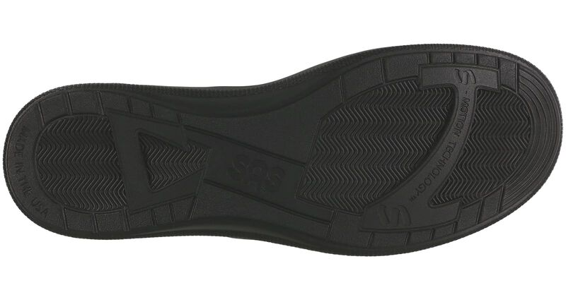 Slip On Black Loafer Bottom View