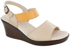 Heather Quarter Strap Wedge Sandal