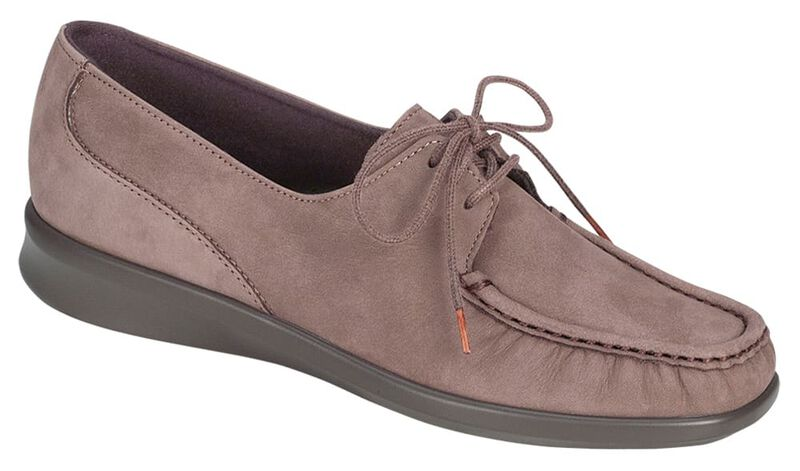 Petra Truffle Nubuck Right .75 View