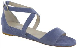 Simone Cross Strap Wedge Sandal