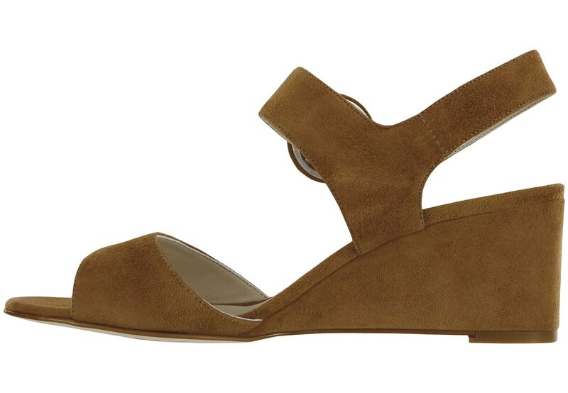 Carine Tan Suede Right Side View