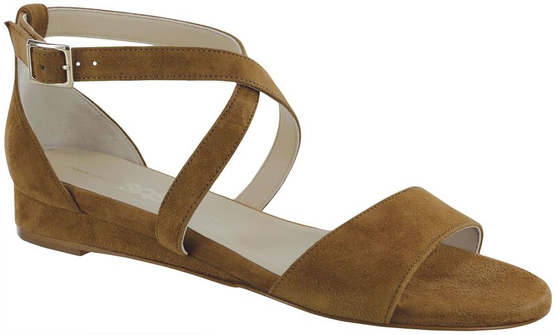 Simone, Tan Suede, large