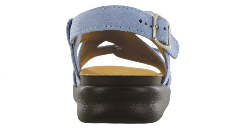 Huggy Cross Strap Sandal, , large