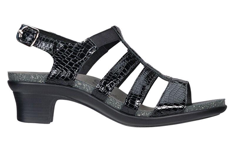 Allegro Black Croc Right Side View
