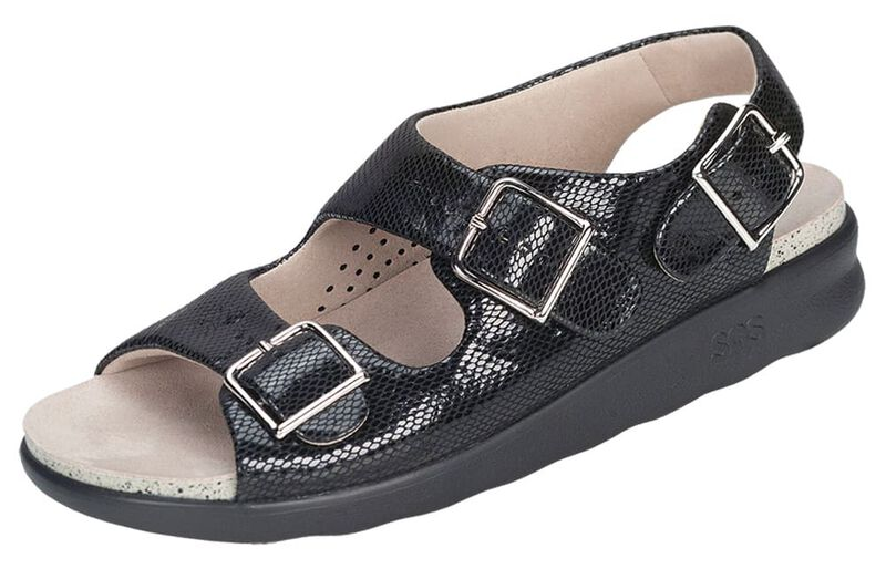 Details about  /SAS Relaxed Sandal Black Many Sizes /& Widths Women/'s Shoes