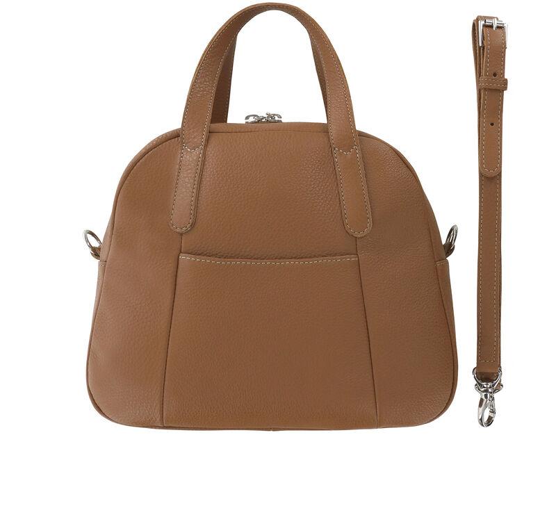 Kenzie Pecan Brown Bag View