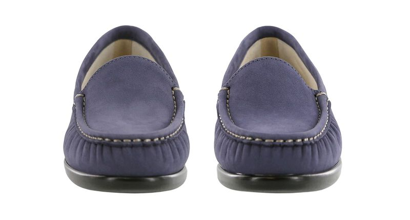 Simplify Navy Nubuck Pair Front View