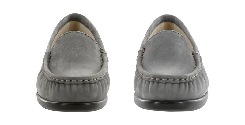 Simplify Gray Nubuck Pair Front View