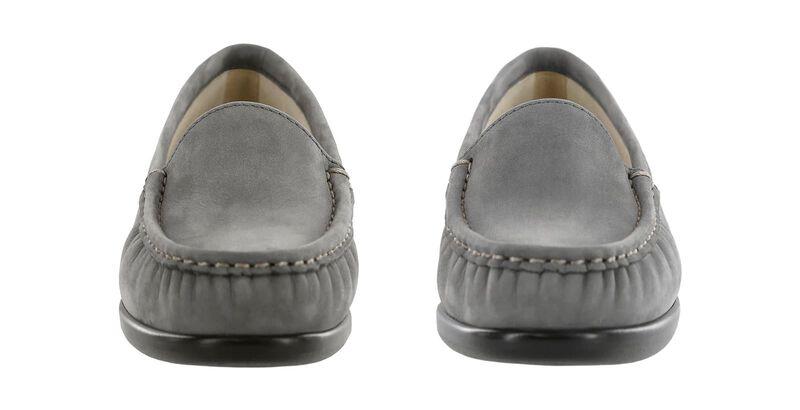 Simplify Gray Nubuck Pair Front View