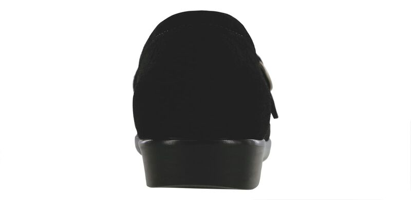 Lara Black Suede Right Rear View