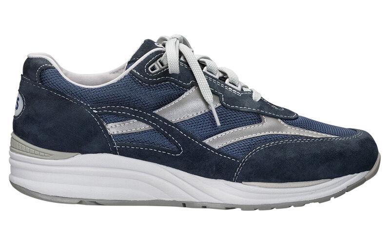 SAS Footwear Men/'s Journey Mesh Lace Up Sneaker Black